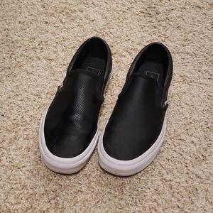 Vans Perf Leather Classic Slip on